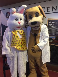 Dr. Wags and Easter Bunny