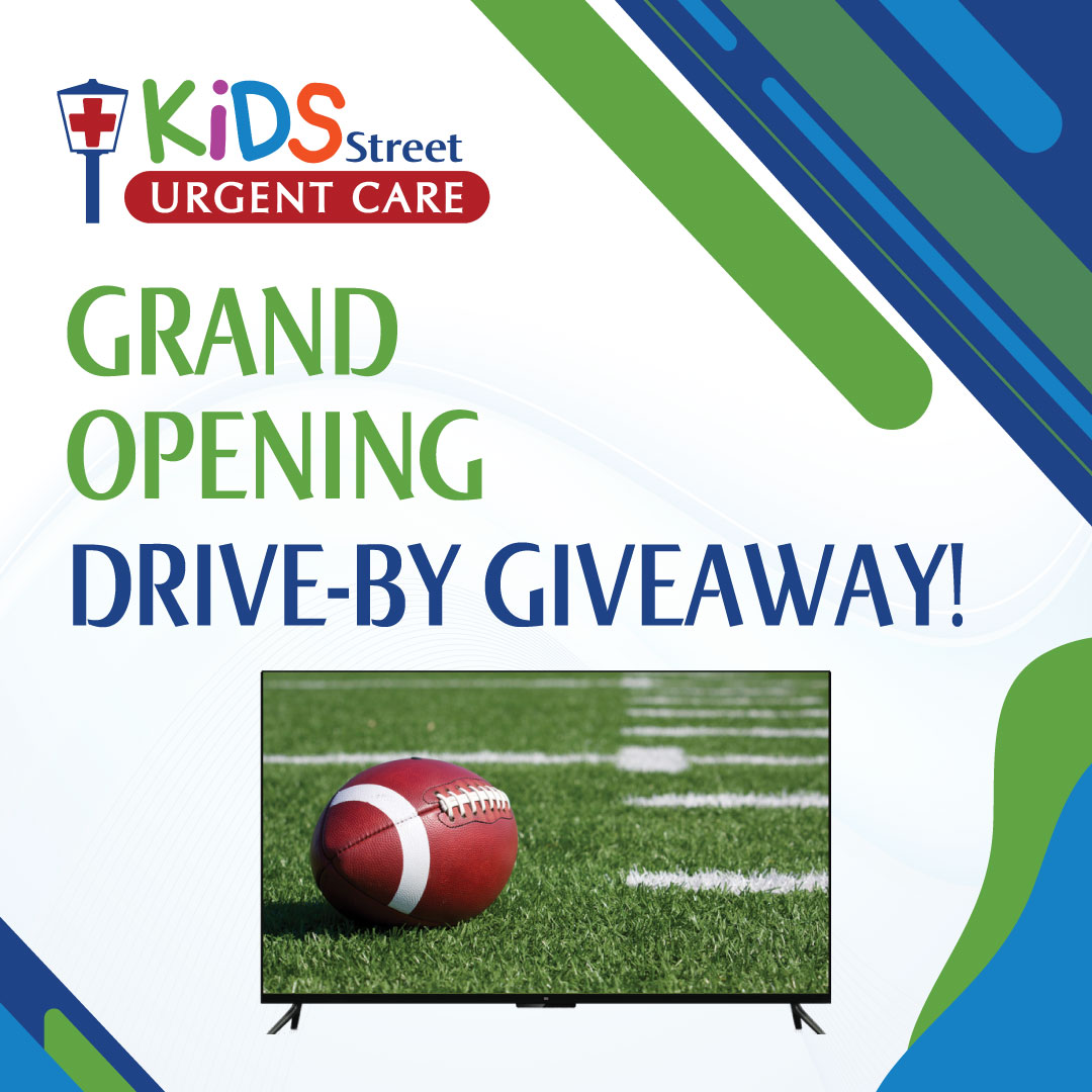 big screen tv and drive by giveaway